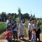 女化ねぎ収穫体験とねぎ食べ比べ2018年3月30日